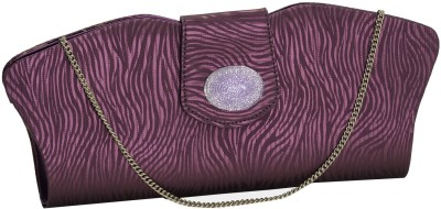 Aapno Rajasthan Women Party Purple  Clutch