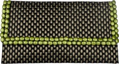 Designish Girls, Women Casual Black, Green  Clutch