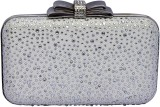 99 Moves Women Casual White  Clutch