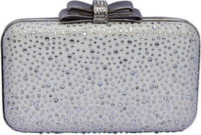 99 Moves Casual White  Clutch
