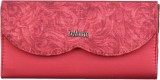Brandvilla Women Casual Pink  Clutch