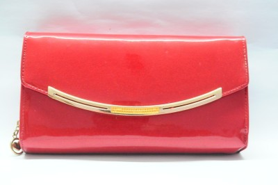 HR OVERSEAS Party Red  Clutch