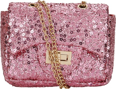 Bling It On Casual, Festive, Formal, Party, Wedding Pink  Clutch