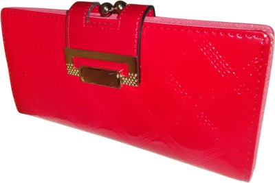 A To Z Creations Women, Girls Casual, Party Red  Clutch