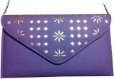 Linzina Women Blue, Gold  Clutch