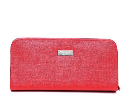 Jolie Casual Red  Clutch