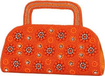 Jupiter Wedding Orange, Multicolor  Clutch