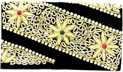 Sunita Fashion Wedding, Party Black  Clutch