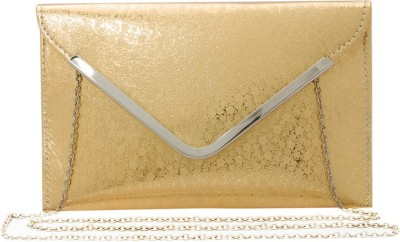 Polki Casual, Party Gold  Clutch