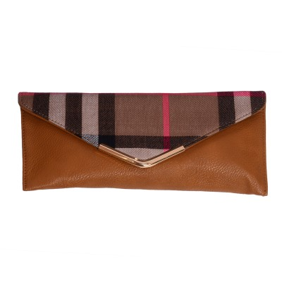 Prime Formal Brown  Clutch