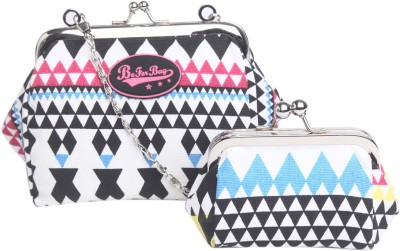 Be for Bag Girls Casual Multicolor  Clutch