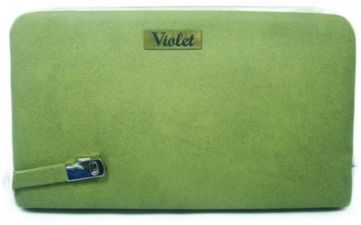 VIOLET Formal, Casual Green  Clutch