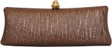 Parv Collections Women Gold  Clutch