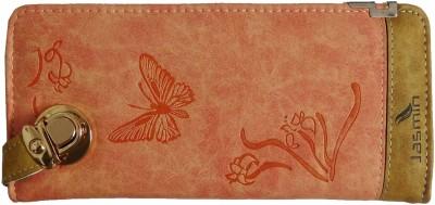 Samco Fas Girls, Women Orange Fabric Wallet