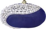 Shree Kala Fashions Women Blue  Clutch