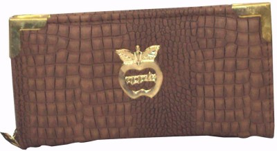 catchy Party Brown  Clutch