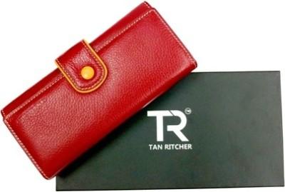 TAN RITCHER Red  Clutch