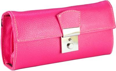 Magiq Women Casual Pink  Clutch