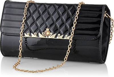 Eyeslanguage Casual Black  Clutch