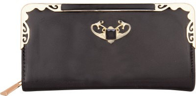 Aliza Women Casual Black  Clutch