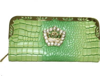 Alarafaat Casual Green  Clutch