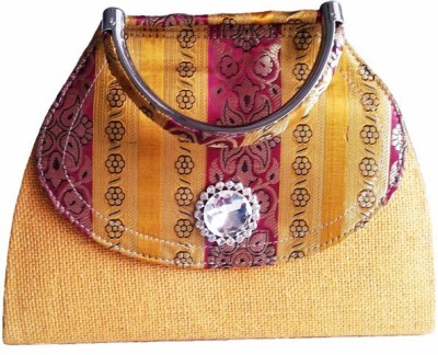 Avisha Creations Party, Wedding Yellow  Clutch