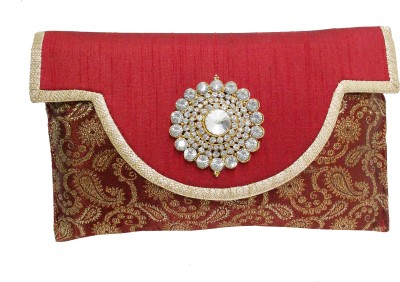 Dafter Luggage Party Maroon  Clutch