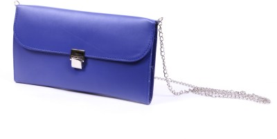 Speed Dot Party Blue  Clutch