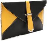 Spice Art Women Black, Yellow  Clutch