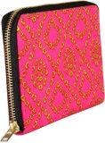 Rajrang Women Casual Pink  Clutch
