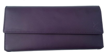 YOURS LUGGAGE Girls, Women Purple Artificial Leather Wallet