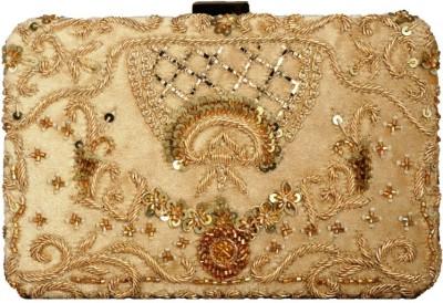 Lizzie Wedding Gold  Clutch