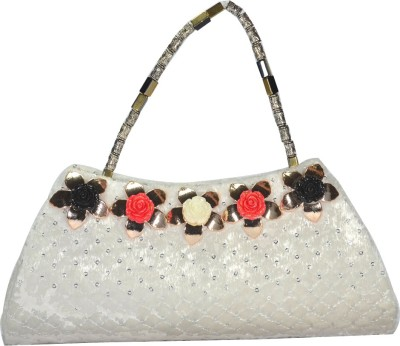 Arisha kreation Co Women Party White  Clutch