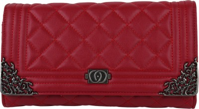 Aadi And Sons Women Casual Red  Clutch