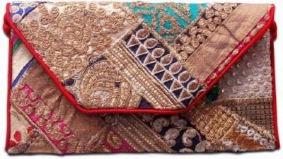 HanumantCreations Festive, Wedding, Party Multicolor  Clutch