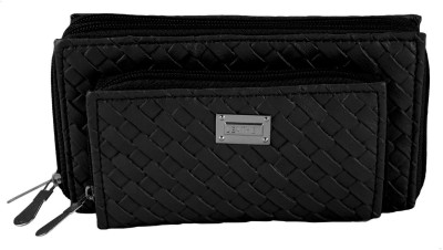 Magiq Girls Casual, Formal Black Artificial Leather Wallet