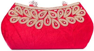 Kleio Girls, Women Casual, Festive, Formal, Party, Wedding Red  Clutch