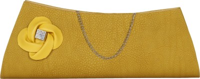 Cocktail Women Party Yellow  Clutch