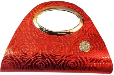 Navaksha Wedding Red  Clutch