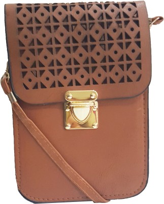 RaviCollections Casual Brown  Clutch