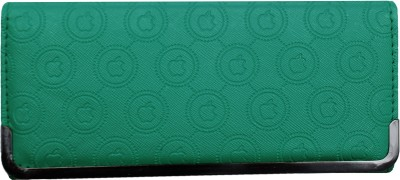 Tripssy Girls, Women Casual, Travel, Trendy Green Artificial Leather Wallet