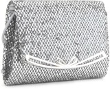 Archies Women Silver  Clutch