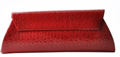 Calvino Women Casual, Party Red  Clutch