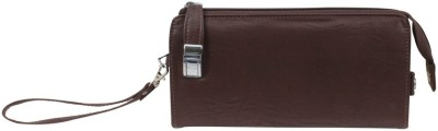 Merci Casual Brown  Clutch