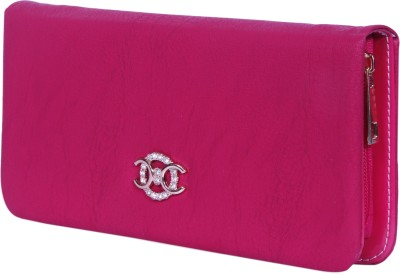 NAAZ BAGS COLLECTION Pink  Clutch