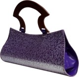 Classymart Women Casual Purple  Clutch