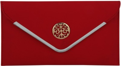 Gihaan Party, Casual, Festive Red  Clutch