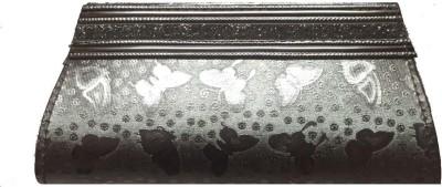 Zibal Silver  Clutch