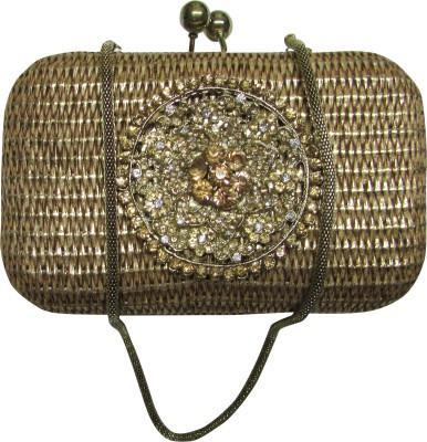 Dafter Luggage Women Wedding Gold  Clutch