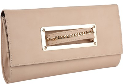 Fur Jaden Women Party Beige  Clutch